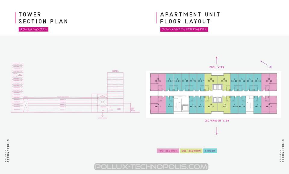 Floor Plan Kairaku Residence