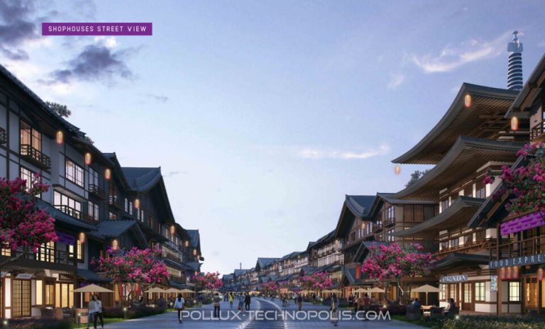 Ruko Pollux Karawang Technopolis Dijual – Dotonburi Shophouses